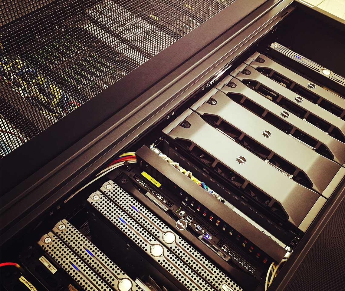 Distline virtualizzazione rack
