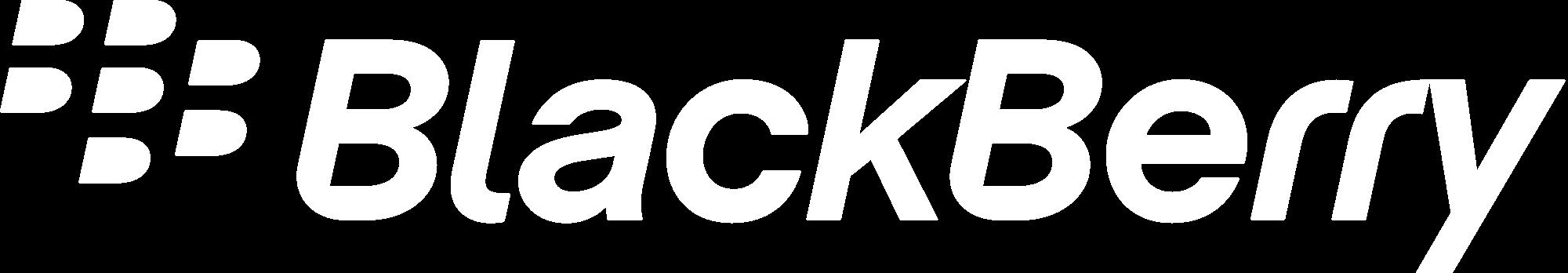 Blackberry White logo